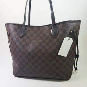 Louis Vuitton Neverfull Mm Brown Damier Ébène